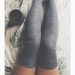 Warm evening over the knee socks
