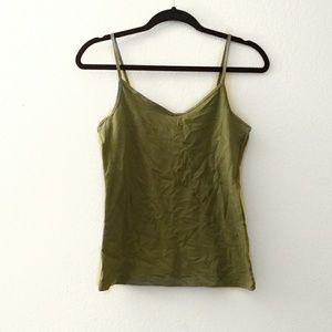 • OLIVE GREEN CAMI •