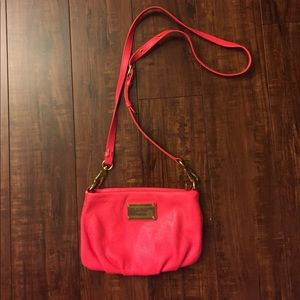 Marc Jacobs Neon Pink Percy Crossbody