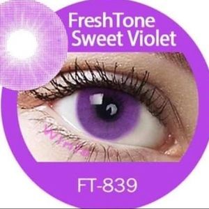 Other - ⚡️SWEET VIOLET COLOR HALLOWEEN COSTUME LENS⚡️