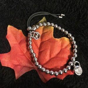 Micheal Kors silver bracelet