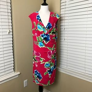 PLUS SIZE RALPH LAUREN Floral Dress 18