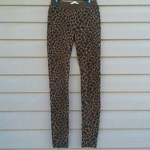 Madewell cheetah print leggings
