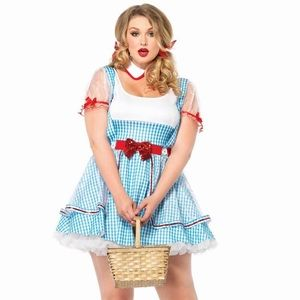 Other - Plus Size Wizard of Oz Dorothy Costume 1x/2x