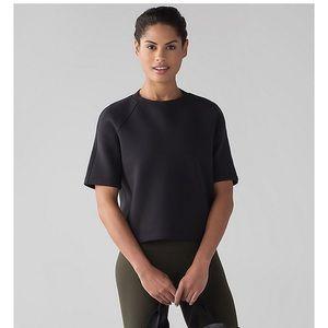 Lululemon NCS Cropped Short Sleeve Sweatshirt