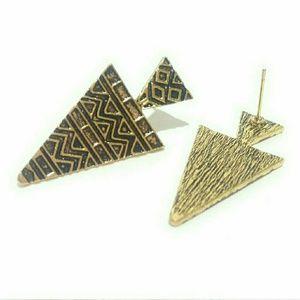 Chevron Aztec Earrings