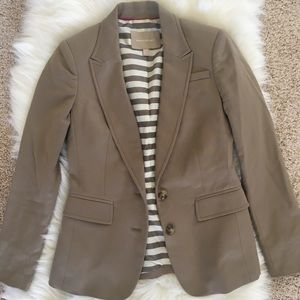 Light brown Banana Republic Blazer size 00