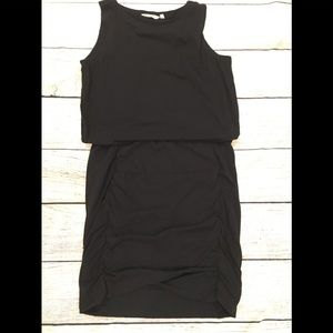 Athleta Tulip Dress Black Large