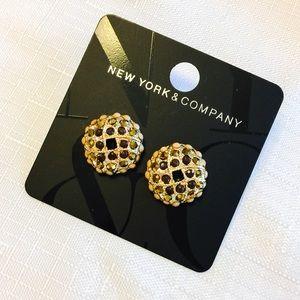 New Topaz Bead Basket Earrings from NY&CO🍂🍁