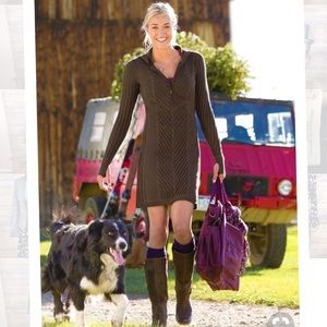 Athleta sweater knit dress