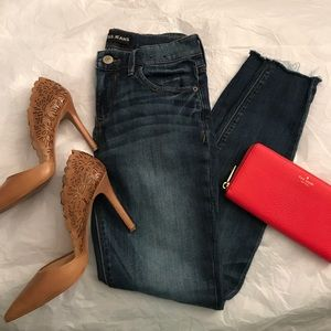 Express Cropped Jeans
