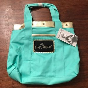 Betsey Johnson Small Mint Tote NWT
