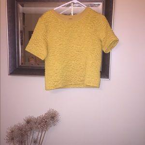 H&M Quilted Sweatshirt