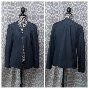 Jackets & Blazers - Dana Buchman Blazer in Indigo