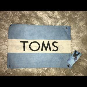 Toms string bag!
