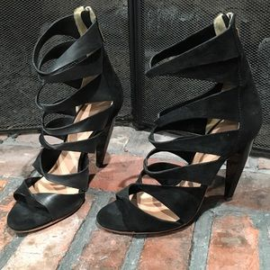 L.A.M.B. Strappy heels size 8