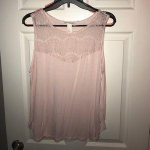 Light Pink H&M Top