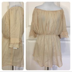 The Podolls handcrafted peasant blouse