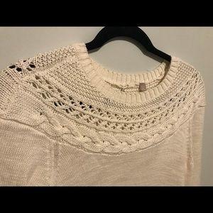 Like new Anthropologie High Side Slit Sweater