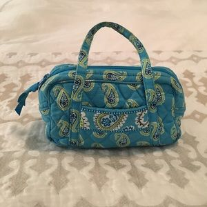 Vera Bradley Bermuda Blue mini purse