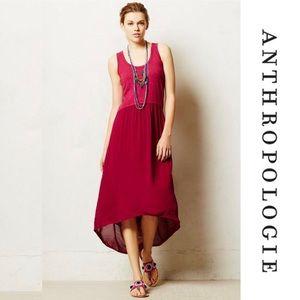 New Anthropologie Left of Center High Low Dress