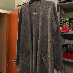 Grey wool Loft Sweater