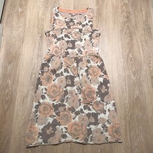 Anthropologie Sleeveless Wool Dress