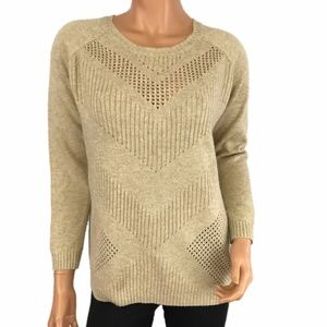 Stitch Fix Market & Spruce Oatmeal Sweater XL