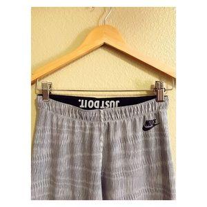 Nike Striped Workout Leggings