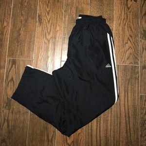 Men's Adidas Lined Wind Sweatpants Sz. L