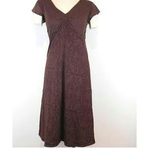 Athleta Dhara Brown Dress