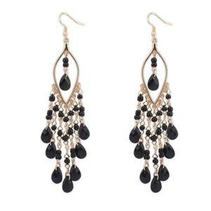 New 18 k Gold Dangling Earrings