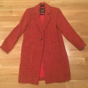 Red/Orange Zac Posen Coat