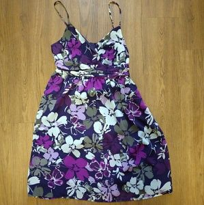 Womans Spring/Summer Purple Floral Dress 🔥