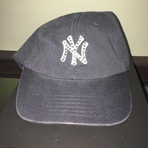 Rhinestone New York Yankees Baseball Cap