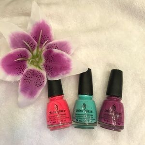 🦄 China Glaze Unicorn Trio Set 🦄
