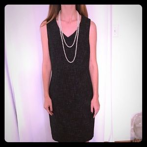 Black Tweed Limited sleeveless Dress Size 4