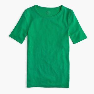 J.Crew Green Perfect-Fit t-shirt size Medium EUC