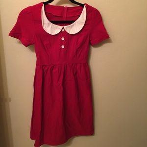 Ruby Red Dress