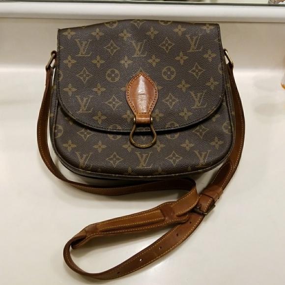 ac2053fb61d0 Louis Vuitton Handbags - Authentic vintage louis vuitton st.cloud gm