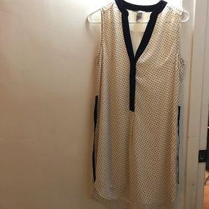 H&M Black and White Tunic Dress
