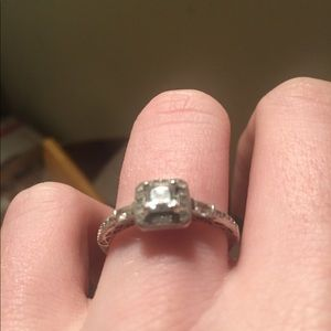 Sterling silver Engagement/ promise type Ring