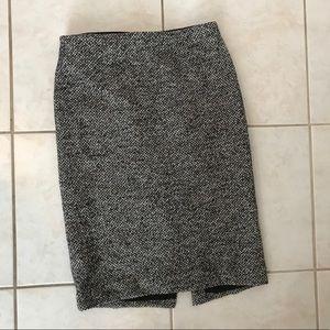 Ann Taylor wool pencil skirt