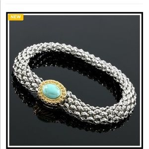 Turquoise magnetic Bracelet