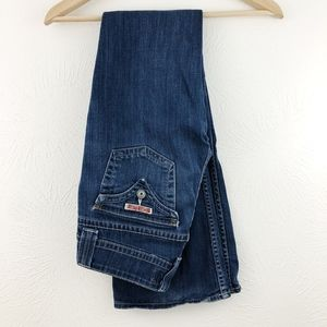 HUDSON Low-Rise, Signature Bootcut Jeans