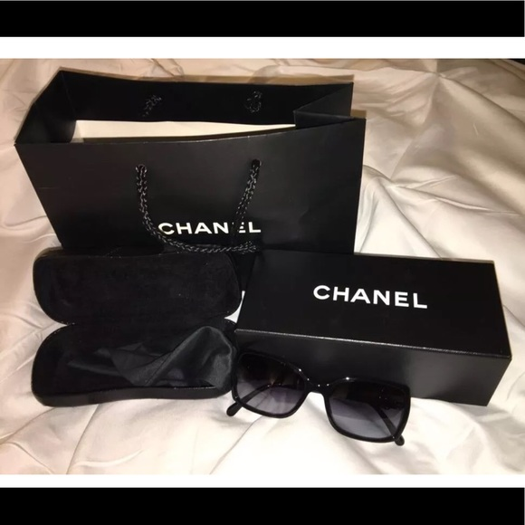 ee62094aef4281 CHANEL Accessories - 100% Authentic Chanel Sunglasses 5218