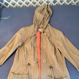 Mossimo tan light coat