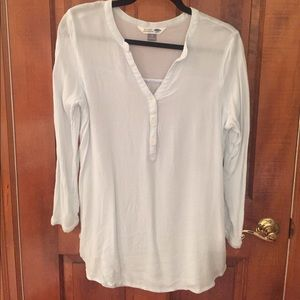 EUC Powder Blue Blouse