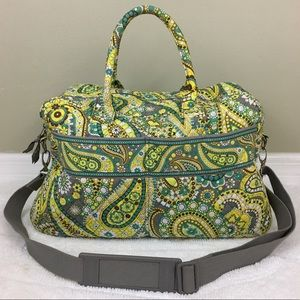 Vera Bradley Duffel Travel Diaper Bag