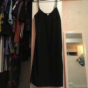 NWOT Strappy Midi Slip Dress